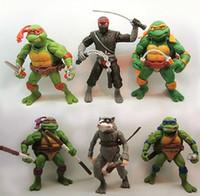 ninja turtles - Kids Teenage Mutant Ninja Turtles Action Figures Toy TMNT Classic Collection Set