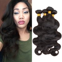 Wholesale Brazilian Hair Fantastic Weave Body Wave quot quot Human Hair Unprocessed Virgin Hair Brazilian Body Wave Tight And Neat