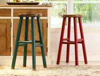 bar stools - Retro do the old wrought iron bar stools wood bar stool high chair stylish coffee barstool Specials
