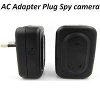 Wholesale AC Adapter Plug Spy camera Wall Travel Charger Spy Camera Audio Video Recorder Mini DV Charger DVR EU US Plug Motion Detection Adaptor Cam