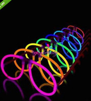 Wholesale Glow Stick Eyeglasses Assort Color Light Up Party Novelty Eye Glasses Good Quality Hot Selling