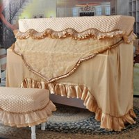 Wholesale Mercure warriors Piano cover piano cover full cover Venus European luxury flocking embroidery yarn piano cover Specials