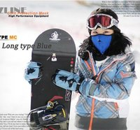 Wholesale new Neoprene Snowboard Ski Cycling Face Mask Neck Warmer Bike Bicyle mask mixed colors ski