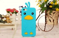 chicken run - 5PCS Newest Arrival Super Quality Stylish Chicken Run Style Soft Silicone Rubber Phone Cover Case For Apple iPhone S S