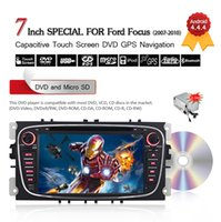 Wholesale 7inch Din Android Car DVD Player For Ford Focus Mondeo Galaxy S max C max3G Wifi Bluetooth GPS Navigation Free GB Card CDVD0017