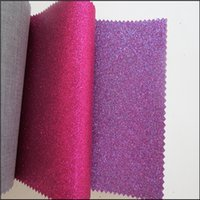 Wholesale 6 meter Glitter wall home decor and fine glitter wallpaper for home decoration Shiny Chunky PU Glitter Wallpaper