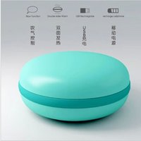 Wholesale Blow control Macaron hand warmer mobile phone Digital Devices charger