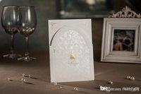Invitations & Invitation Buckles elegant wedding invitations - Best selling invitation cards Elegant Ivory wedding invitations cards Unique D Elegant personalized wedding invitation High quality