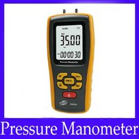 Wholesale Digital different pressure manometer gauge GM520 with units to select MOQ