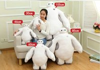 Wholesale Big Hero cm Baymax Robot hands can t move Stuffed Plush Animals Toys Christmas Gfit for kids