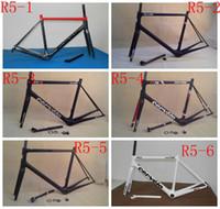 Wholesale R5 Super light carbon frame road BBright carbon road frame T1000 carbon fiber road bike frame