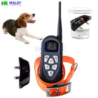 auto air shocks - SG Walzy AT S Yard Dog Training Collar With Level Shock Vibration Beep and Auto Anti Bark Feature by Post Air Mail