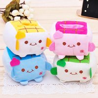 baby tofu - Cell phone holder plush tofu baby cell phone holder cell phone holder