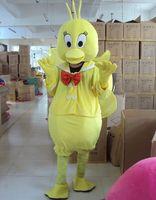 beautiful chicks - Factory Outlets Brand New fashion Chick beautiful girl Halloween Fancy Dress Cartoon Adult Animal Mascot Costume