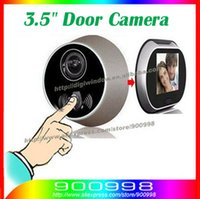 Wholesale 3 quot color LCD Digital Video Door Viewer Peephole Doorbell Security Camera cam Promotions wide angle S10