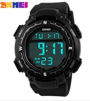 Wholesale Skmei Luxury Brand Men Sports Watches Digital LED Military Watch M Waterproof Outdoor Casual Wristwatches Relogio Masculino