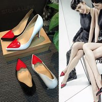 high heel red sole - japanned genium leather red sole love high heel pump cm high heel