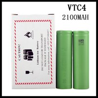 Cheap US 18650 VTC4 2100mAh 3.7V Li-ion battery clone for E cigarette Manhattan King Nemesis Stingray Mechanical mods 0204105 -1