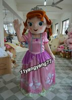 Mascot Costumes People Christmas New Sofia Princess Mascot Costume Cartoon Play Adult Size Customize Sophia