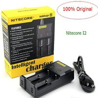 Wholesale Nitecore Intellicharger I2 Li ion NiMH Battery Authentic Charger For Battery E Cigarette
