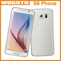 1: 1 S6 EDGE teléfono MTK6571 Dual Core 1.4 GHz Teléfono Celular Mostrar 8GB 32GB 5,1 pulgadas 512M Android 4.4.4 caja sellada GooPhone S6