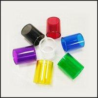 Wholesale Kanger Toptank Mini Nano Glass Tube Pyrex Glass Tube Replacement Sleeve Glass Tube Colorful for Toptank Mini Nano Atomizers