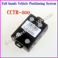 Wholesale 2014 Waterproof Car GPS Tracking Device CCTR Real Time with Full Bands Free service tracking Shock Sensor