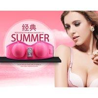 Wholesale Electric Breast Enlargement Massager Rechargeable Bust Beauty Enhancer Grow Bigger Magic Vibrating Massaer UP D Cup
