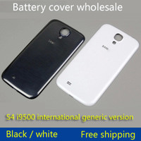 abs doors - For Samsung Galaxy S4 I9502 s4 OEM Back Chassis Housing Bezel For GT I9508 Battery Door Cover
