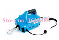 Wholesale Portable Electric Winch For Constrution kg Cable meter Electric Winches Hoist