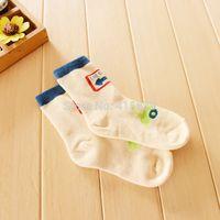baby light socks - Fedex pair traffic light style thicken cotton warm winter baby boy terry socks