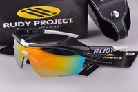 Wholesale Top quality rudy project GENETYK sport sunglasses glof eyewear for men or women cycling eyewear oculos ciclismo color