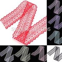 Wholesale Mulit Color Cotton Laceness DIY Lace Ribbon for Bags Crafts Clothes