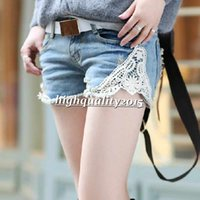 Cheap feminino jeans Best lace light