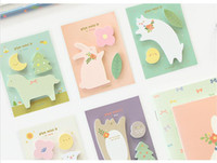 Wholesale 1 X Cute Pages Sticker Post It Bookmark Point It Marker Memo Flags Sticky Notes Sticker Paper N