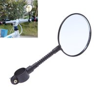 Wholesale New Cycling Handlebar Rear View Mirror Reflective Safety Flat Mountain Road MTB Bike Bicycle Rearview Mirror Accessory