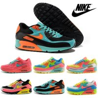 Wholesale Nike Air Max Rainbow Running Shoes For Women Original Walking Shoes New Light Trainers Brands Womens Sports Shoes