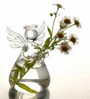Wholesale Valentine Day Gift Angel Vase Handmade flower vase home decoration fashion Holiday gift birthday gift
