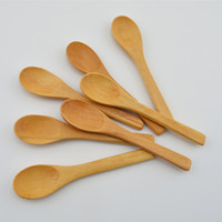 Wholesale Newest Solide Feeding Small Wooden Kid Baby Spoon