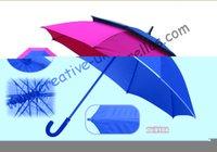 auto golf umbrella - by sea mm fiberglass shaft and ribs auto open golf umbrella windproof anti thunderbolt nylon silver coating