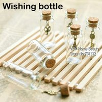 Wholesale 10 glass bottles with corks wishing bottle Vintage Eiffel Key Novelty households Home Decorative items Novelty gift