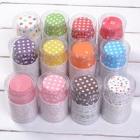 Wholesale 2015 Cheap New Design Cake Decoration Birthday Paper Cup Cakes Muffin Cups Mold