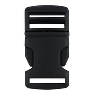 Wholesale 1pcs mm Plastic Side Release Buckle Slider Clip Fastener For Webbing Strap Contoured Curved Side Release Buckle