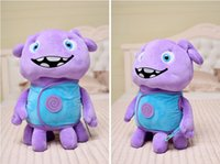 amazing mascots - Home Movie Plush Toys Super Amazing Aliens Tip Mascot Captain Boov Stuffed Toy Doll Gift For Kids