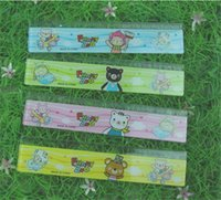 Wholesale 2015 New Arrival Kids Cartoon Rulers Hot Sale Stationery Europe Froze Elsa Fashion Cartoon Ruler Lovely Children Kids High Quality