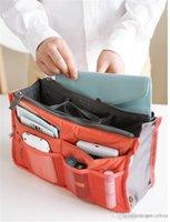 Wholesale New Sale Make up organizer bag Women Men Casual travel bag multi functional Cosmetic Bag storage bag in bag Handbag Colors