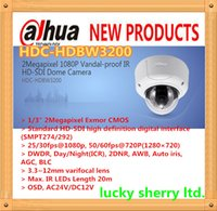 Wholesale DAHUA tech quot Exmor CMOS2MP HD SDI Camera P IR Vandalproof HD SDI Dome Camera HDC HDBW3200