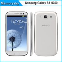 android storage - Factory New Original Samsung Galaxy S3 i9300 GSM G Quad core GB storage inch MP camera Refurbished cell phones high quality