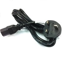 Wholesale BS model power cord with fuse m long mm2 black white
