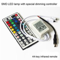 Wholesale DC V A Keys LED Controller IR Remote controller GRB Port for RGB LED Strip Light Key RGB Remote PM00127